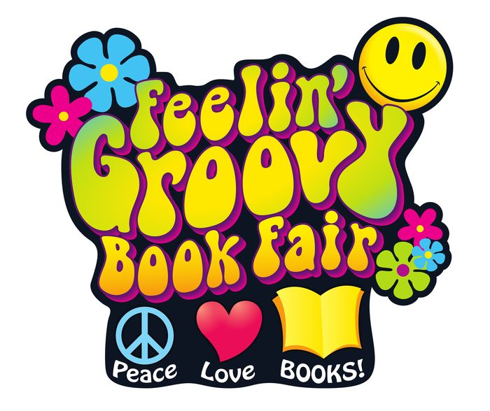 700x588 Feelin' Groovy Book Fair Peace, Love, Books! Book Fairs, Peace