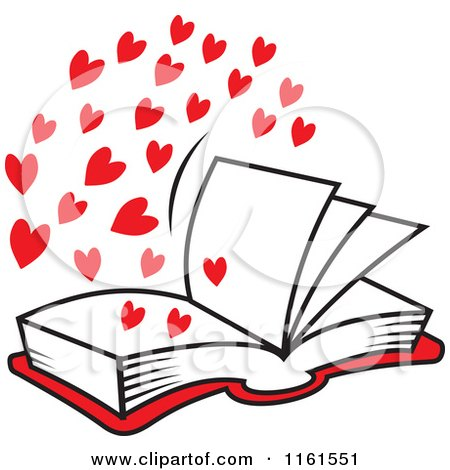 450x470 Open Book Clip Art Heart Cliparts