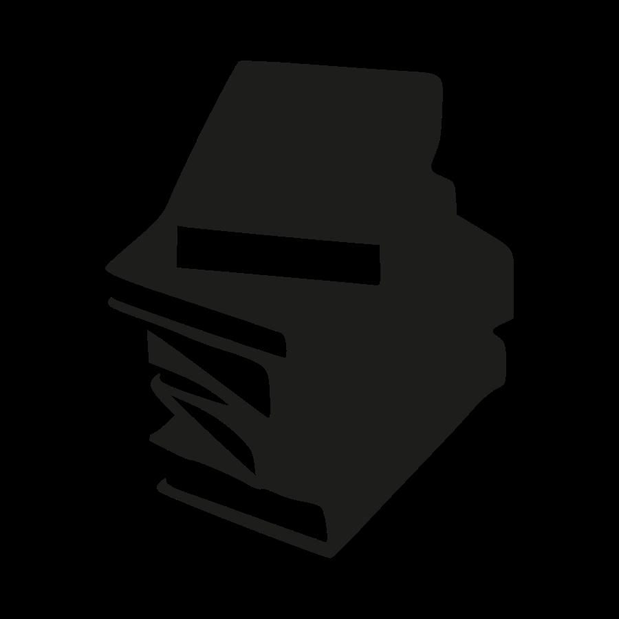 900x900 Book Clipart Silhouette