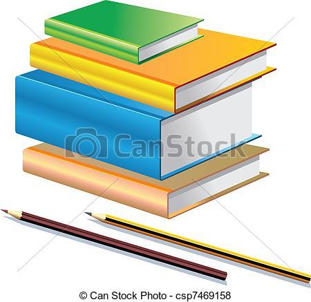 450x437 Pencil And Book Clipart Clipart Panda