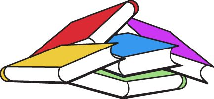 433x200 Pile Of Books Book Pile Clip Art Image Bunch Of Colorful Books