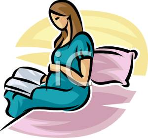 300x280 Pregnancy Cartoon Pregnant Woman Co Clip Art Image