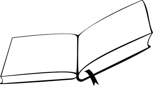 600x340 Mgsloan Open Book From Above Clip Art Free Vector In Open Office