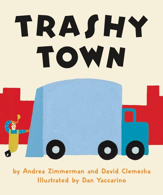 540x648 Trashy Town Board Book