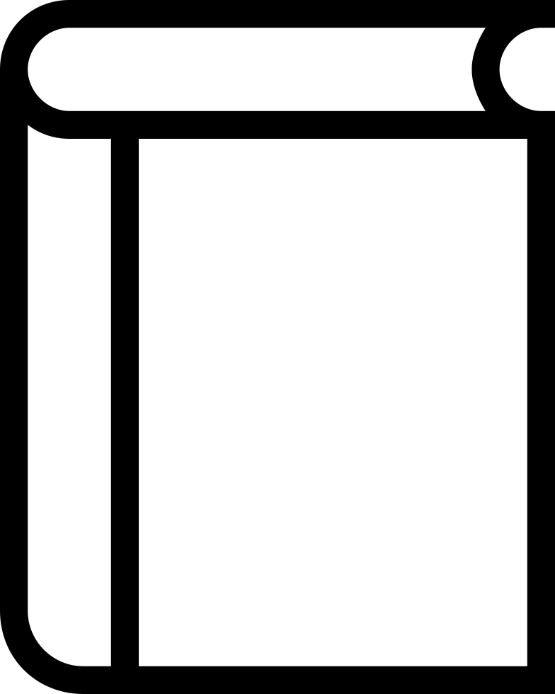 784x980 Book Outline Svg Png Icon Free Download ( 56130)