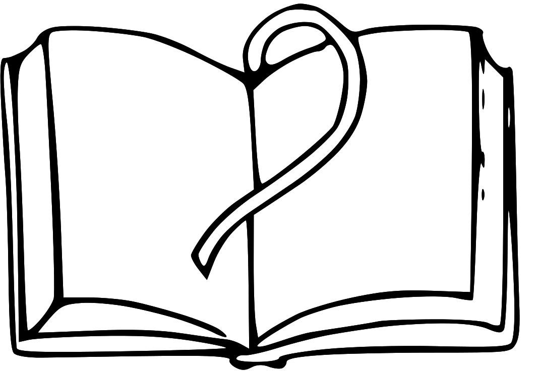 1071x736 Open Book Outline Clipart Free Clipart Images Image