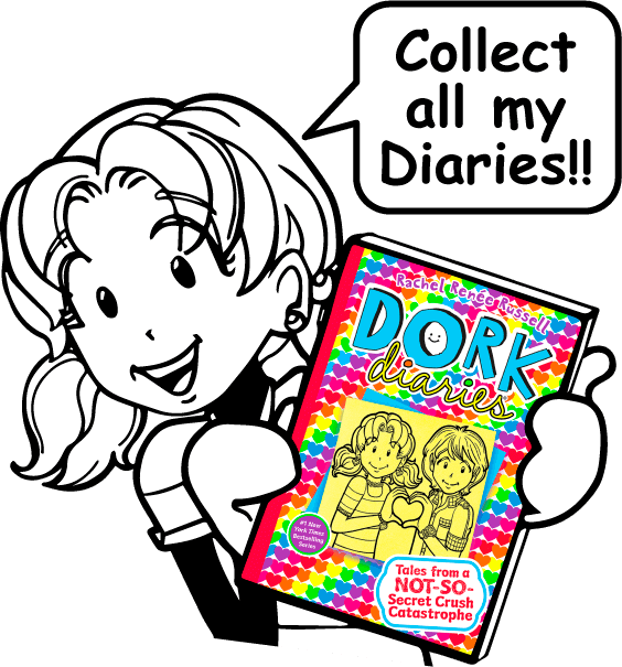 564x605 My Books Dork Diaries