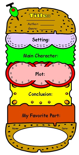 262x513 Stories Clipart Book Report