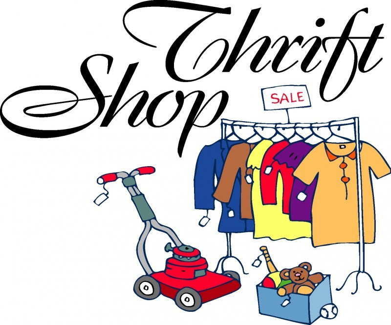 800x665 Products Clipart Thrift Store