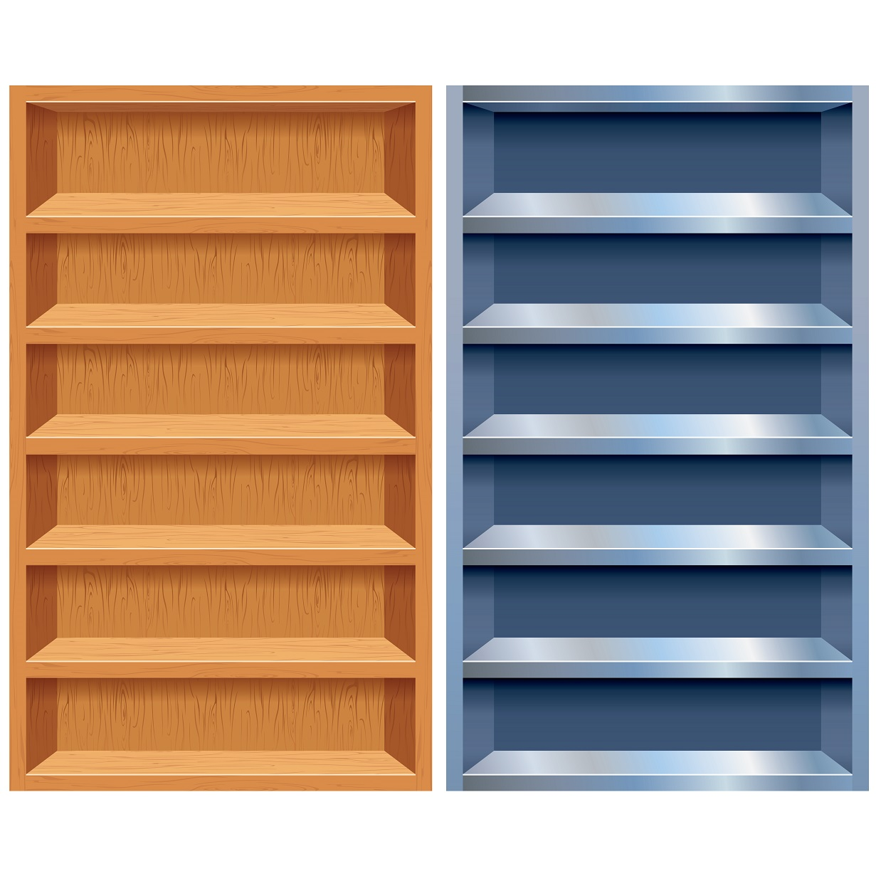 Book Shelf Clipart Free Download On Clipartmag