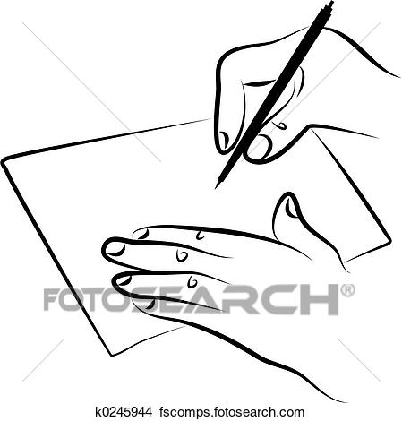 449x470 Drawings Of Signing Document K0245944