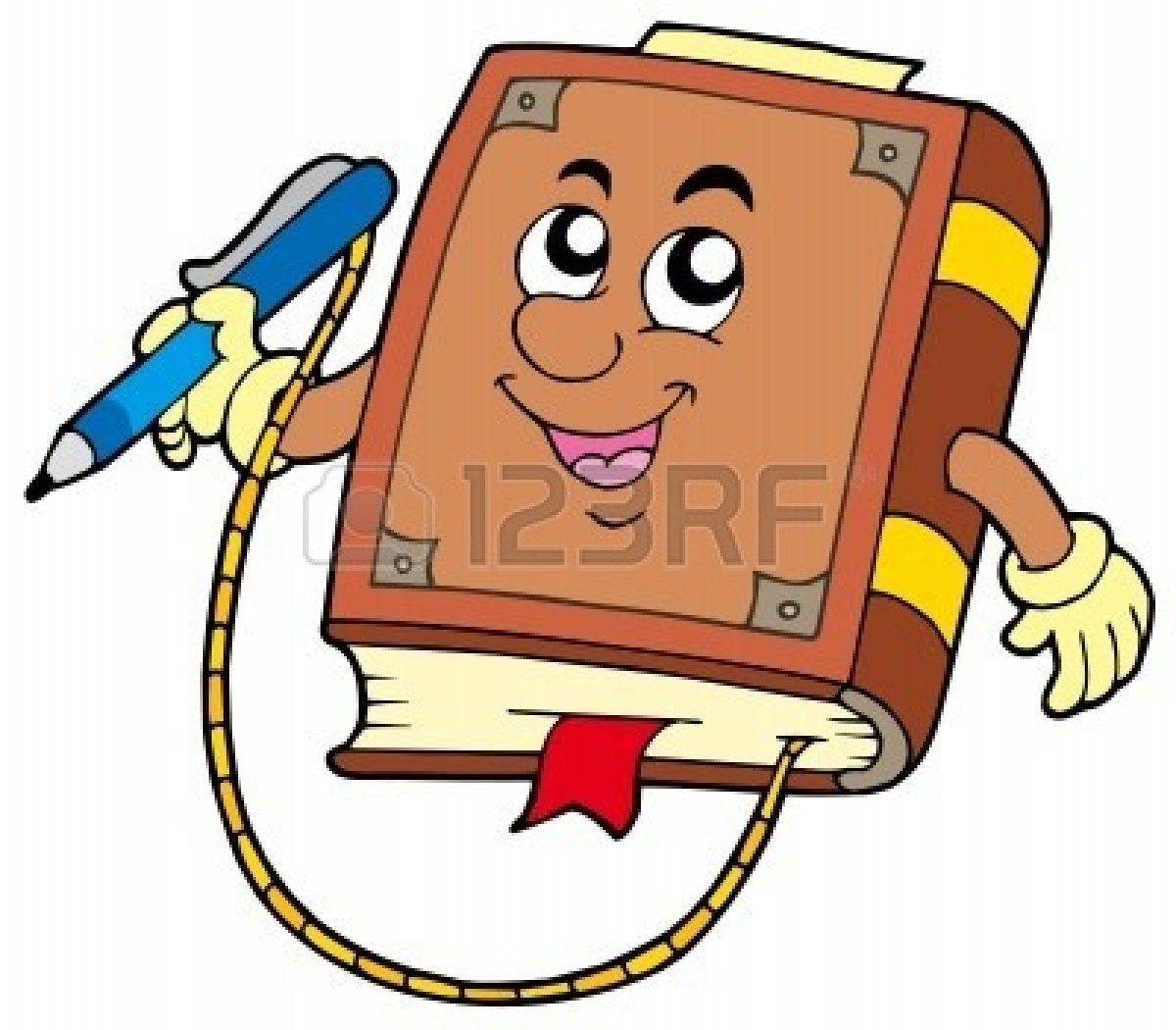 1200x1050 Book And Pen Clipart