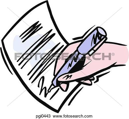 450x413 Signing Clipart