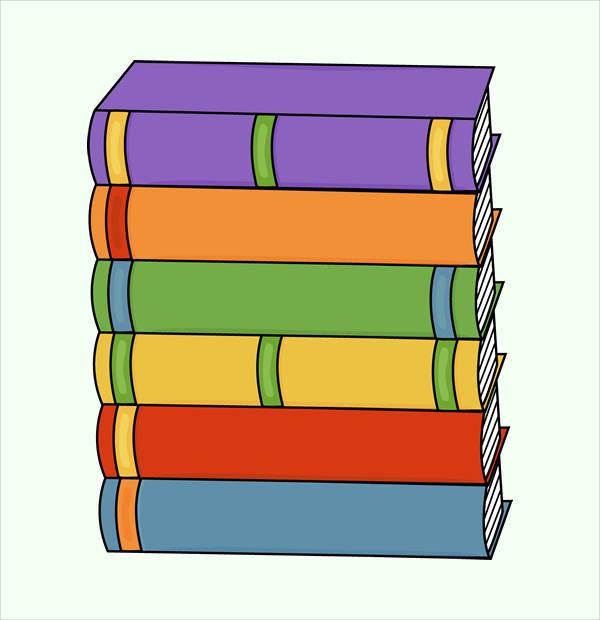 600x620 Book Cliparts