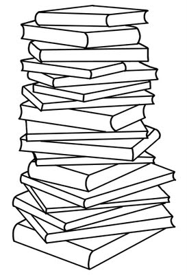 273x400 Stack Of Books Pile Of Books Clipart