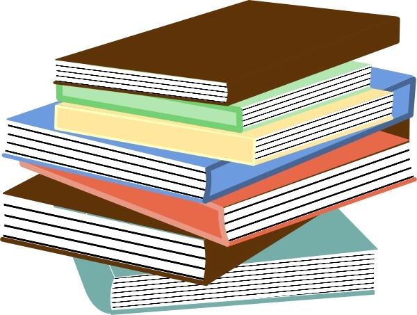 600x453 Clip Art Stack Of Books