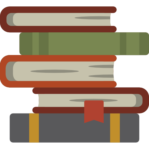 512x512 Book, Stacked, Stack, Science Icons, Tool, Books, Library