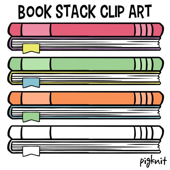 570x570 Book Clip Art, School Book Clip Art, Childrens Library Decor