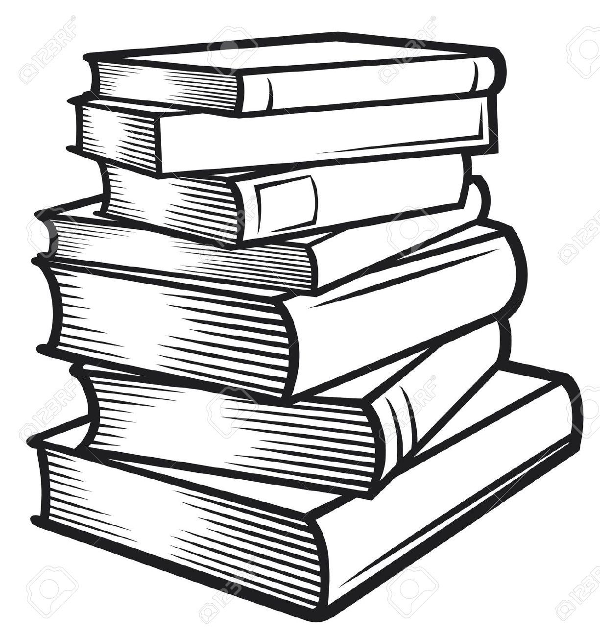 1225x1300 Stack Of Books Clip Art Books Clip Art Image Black