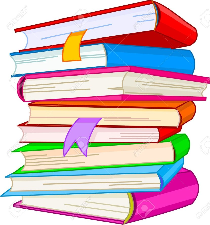 830x888 Stack Of Books Clipart 4