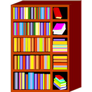 300x300 Bookcase Clipart Book Rack