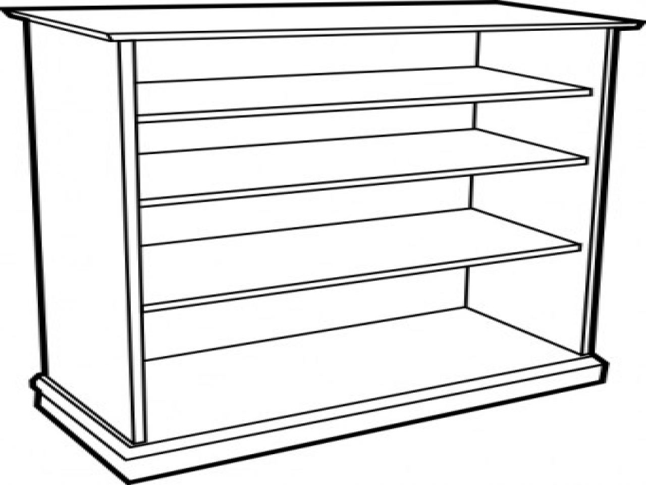 1280x960 Bookshelves Clipart Black And White New Property Sofa