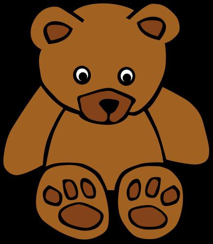 436x500 Brown Bear Clip Art