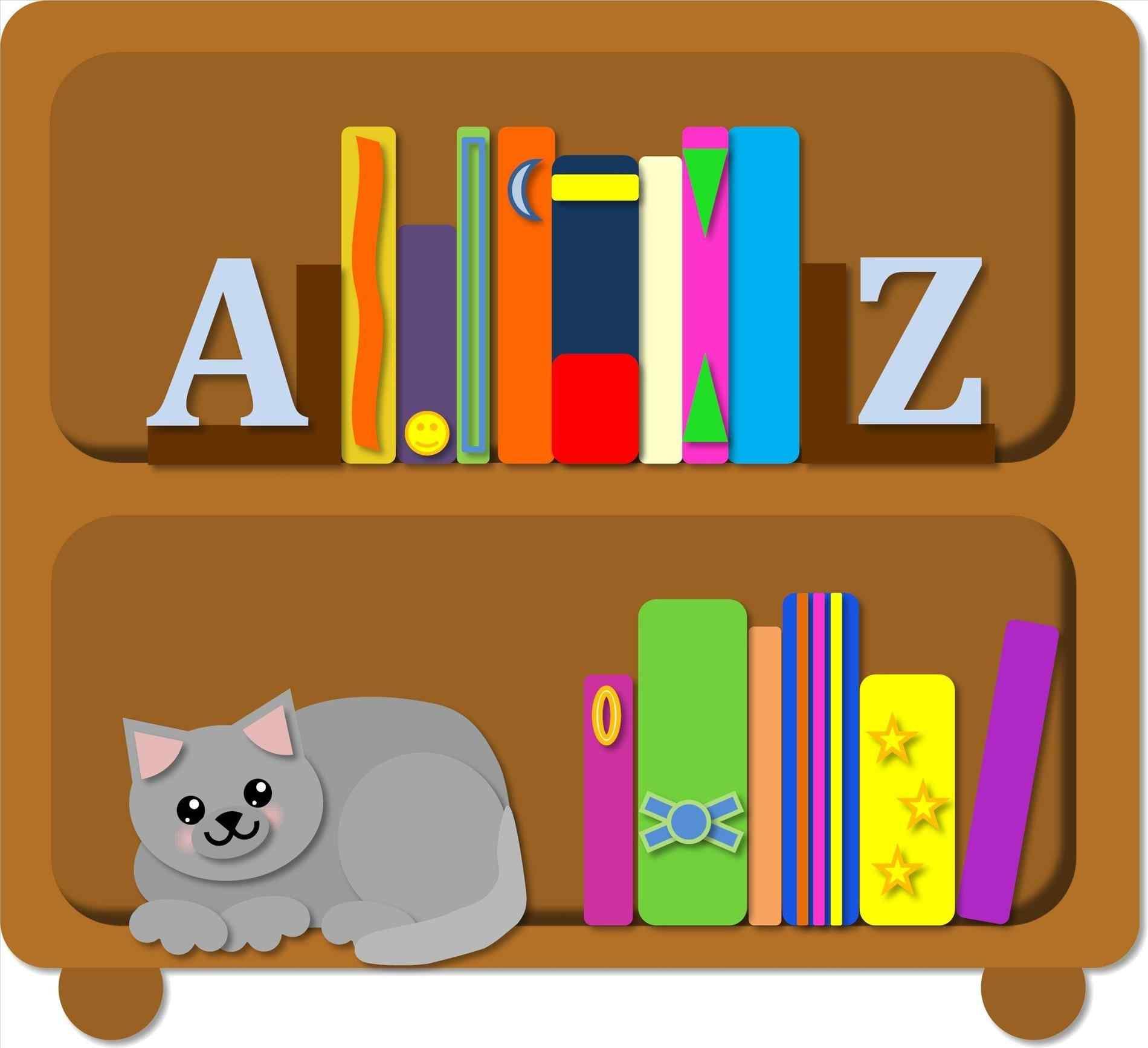 1900x1735 Library Bookshelves Clipart