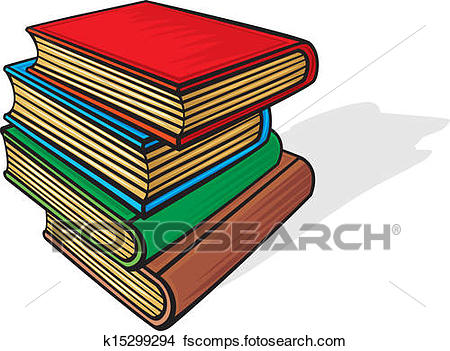 450x351 Clipart Of Stack Of Books K15299294
