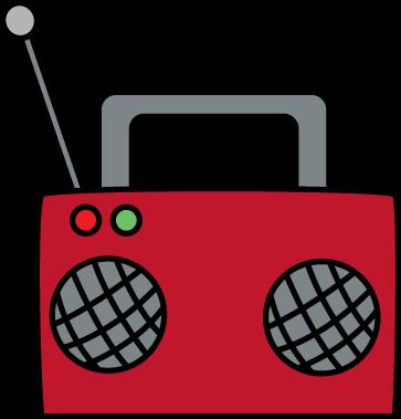 363x379 Radio Clip Art