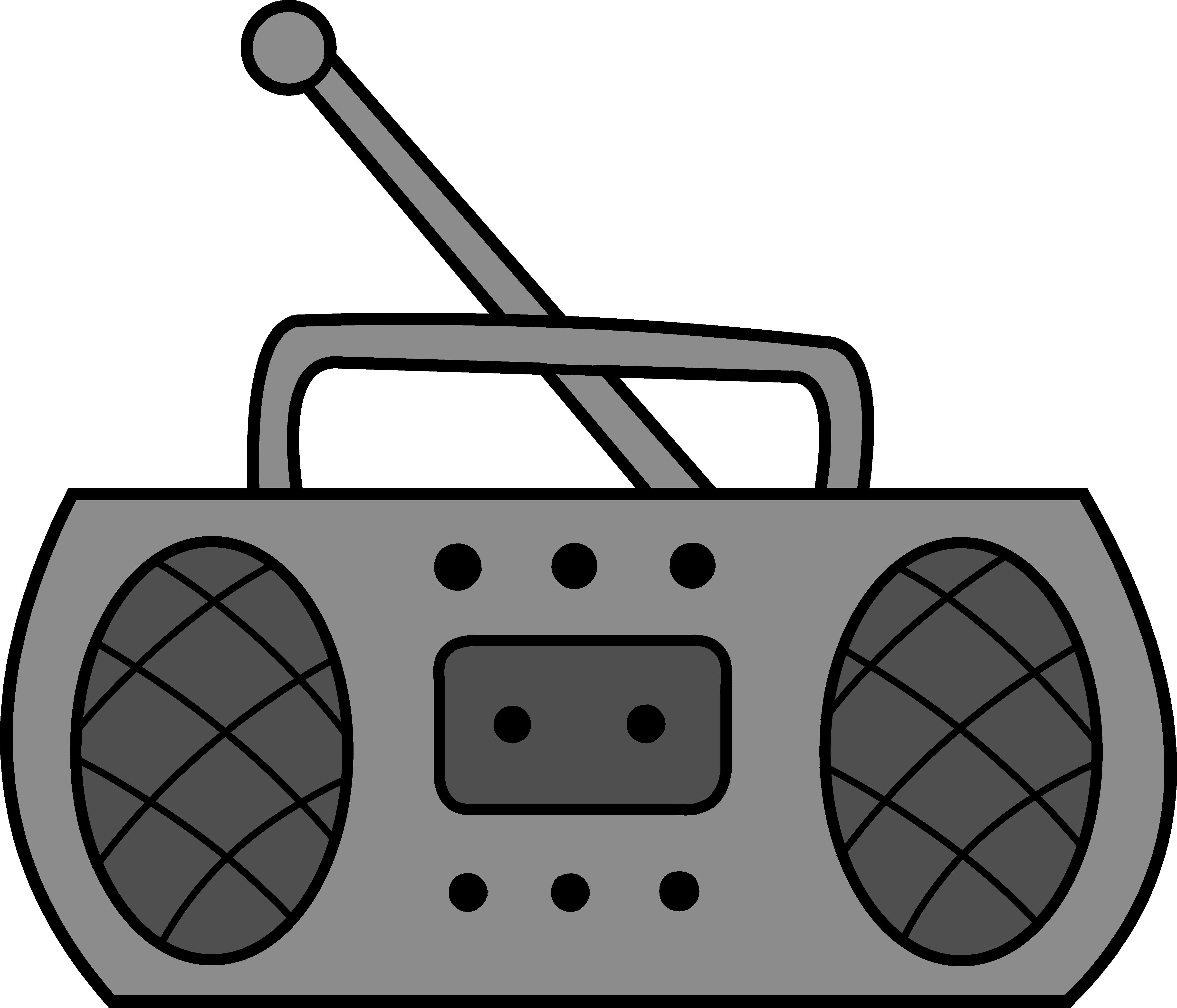 4831x4138 Radio Clipart