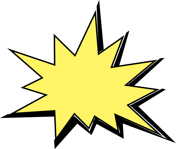 600x510 Boom Clipart Star Explosion