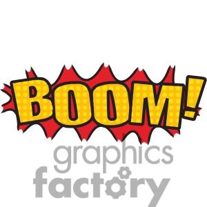 300x300 Boom Clipart The Word