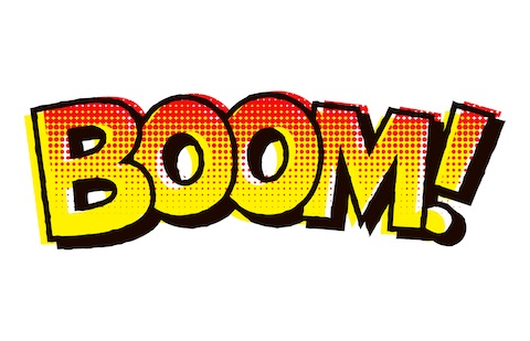 480x309 Boom Clipart The Word