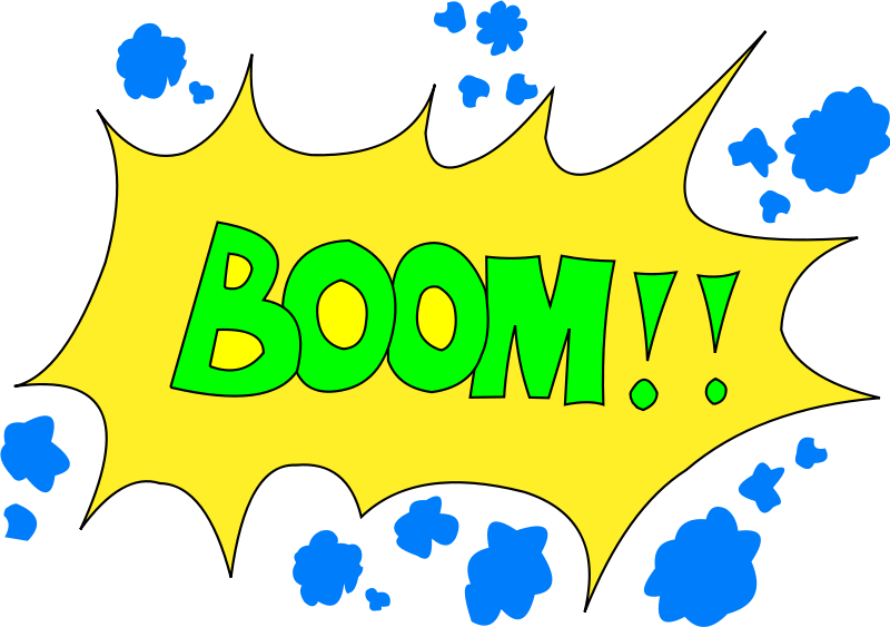 800x563 Boom Clipart Loud Noise