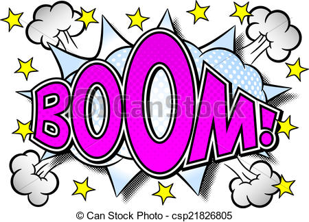 450x324 Boom Clipart Sound Effect