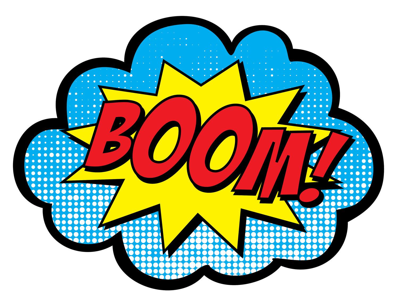 1500x1159 Boom Clipart Superhero