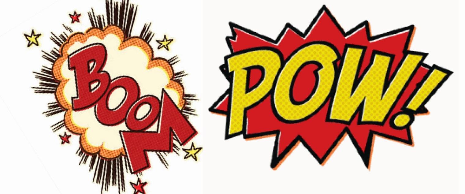 1520x634 Comics Clipart Boom