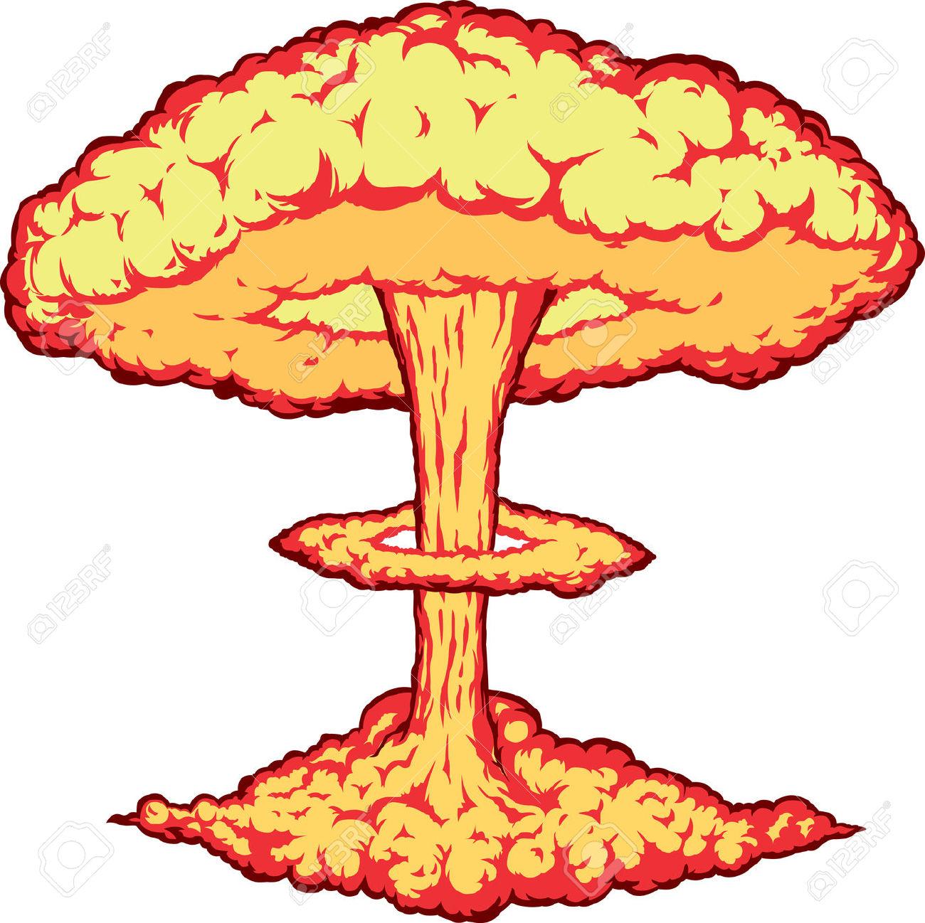 1300x1298 Nuclear Clipart Boom