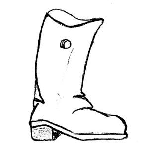 300x300 Boot Clip Art Clipart Panda