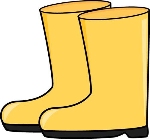 500x463 Green Clipart Rain Boot