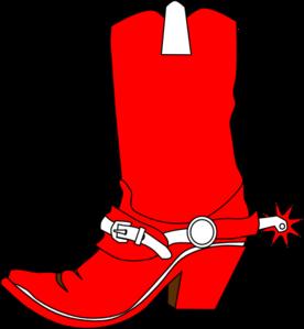 276x299 A Cowboy Christmas Boot Cowboy Boots Clip Art And Cowboys Image 5