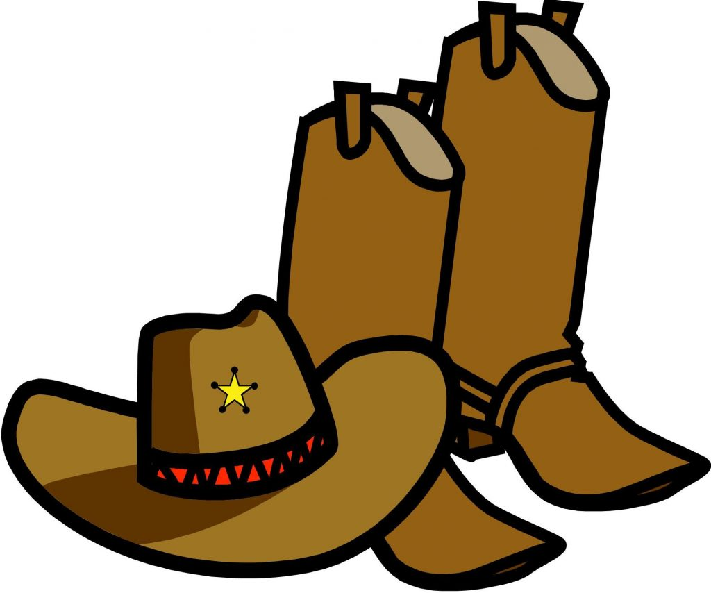 1024x854 Best Free Cowboy Boots Clipart Black And Whitewboy Clip Art Image