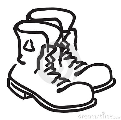 400x396 Boot Clip Art