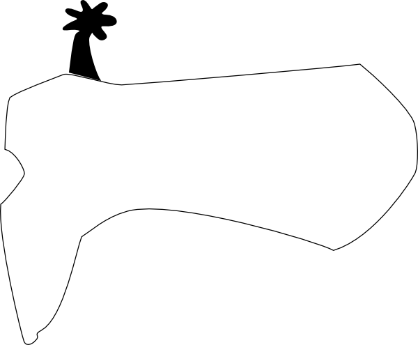 600x495 Boot Clip Art