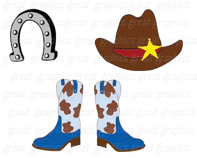 800x640 Boots Clipart Western Theme