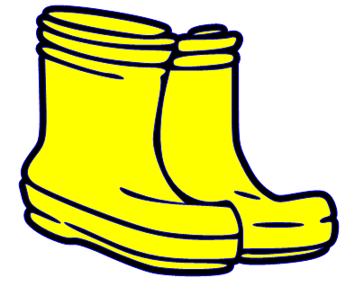 384x319 Rubber Boots Clipart Rain Boots Clipart Black And White Clip Art