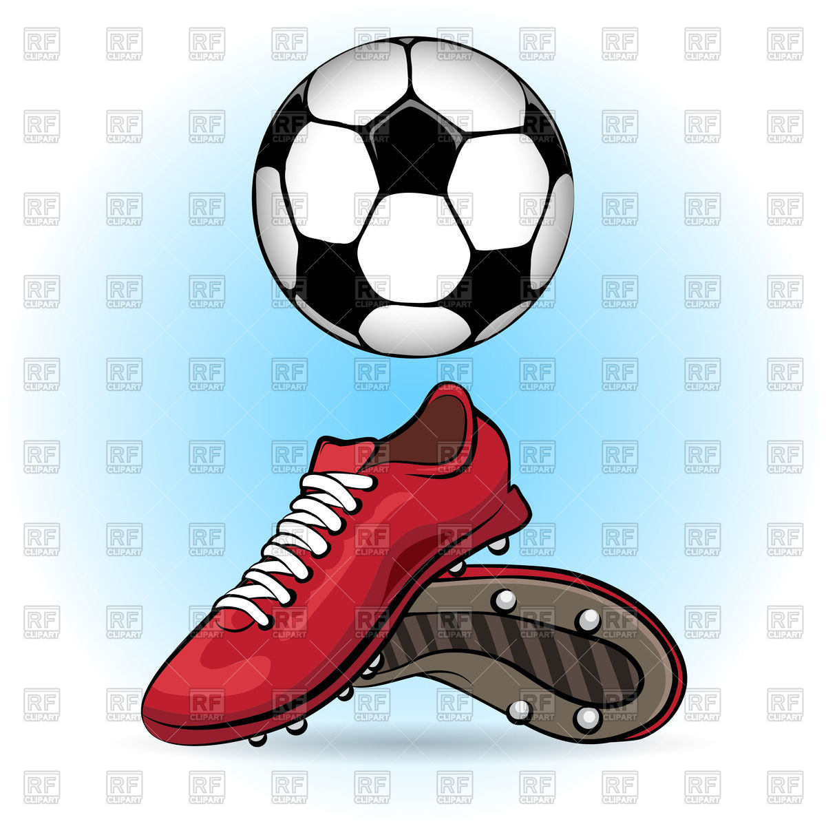 1200x1200 Sporting Shoes And Soccer Ball