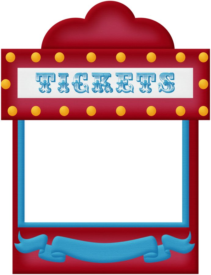 691x900 Circus Clipart Carnival Booth