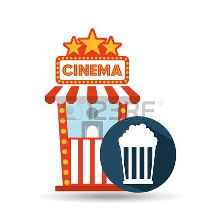 450x450 Popcorn Clipart Ticket Booth